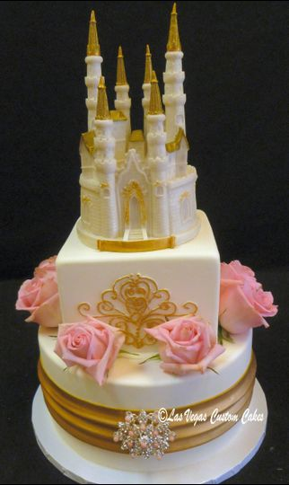 wedding castle topped