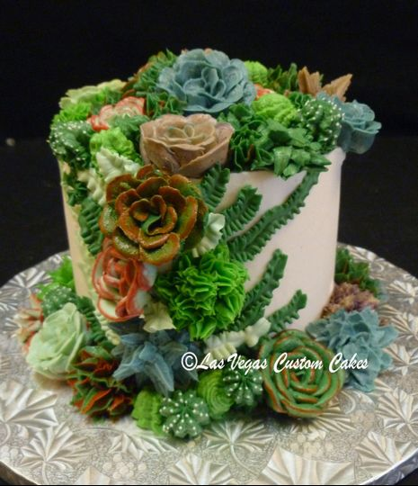 wedding succulent garden small