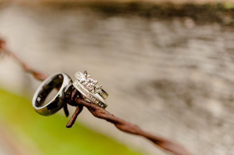 Detailing on rings