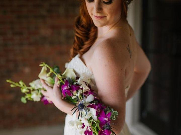 Tmx 1482258297894 Reginaasthephotographerllccoppertailstyledshoot208 Tampa wedding florist