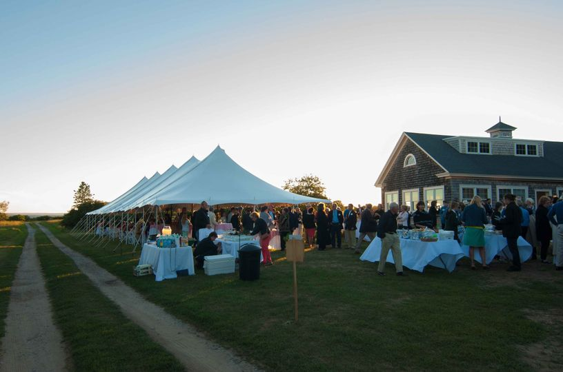 Thank you to Maine Preservation for this picture!  What a beautiful event!