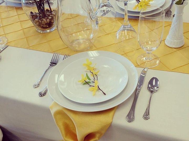 Tmx 1456415043371 Yellow Table Biddeford, ME wedding rental