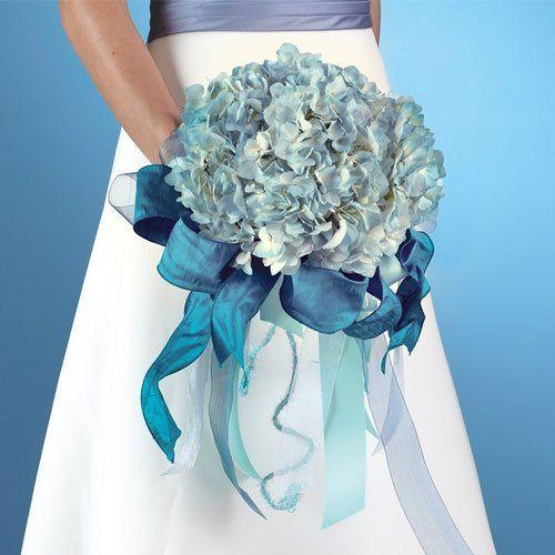 Hydrangea Blossom Bridal Bouquet