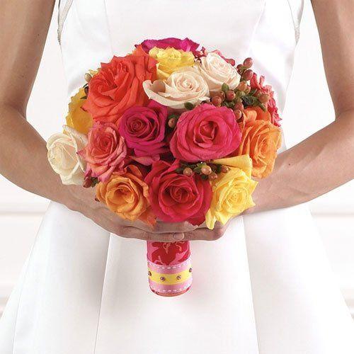 Multi-colored Round Bouquet