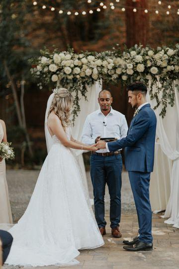 Ceremony garland