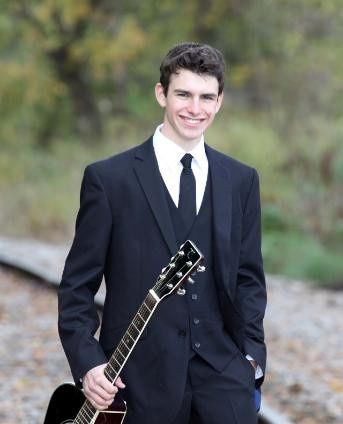 Musician smiling