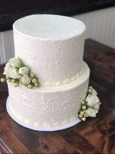 Rustic Wedding Cake Colie's