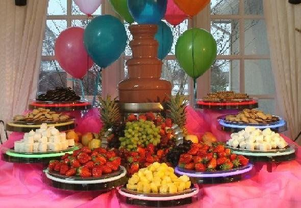 A Taste of Chocolate - Chocolate fountain - Wedding Cake - Rogers ...