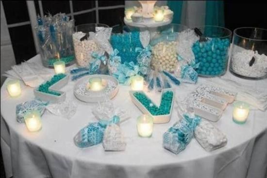 Candy buffet, take home gifts