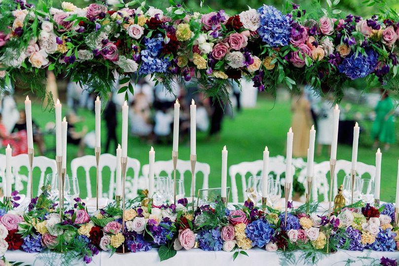 Main table decoration