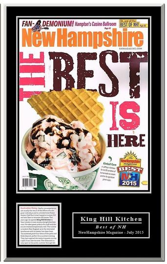 Best Dining in NH 2015