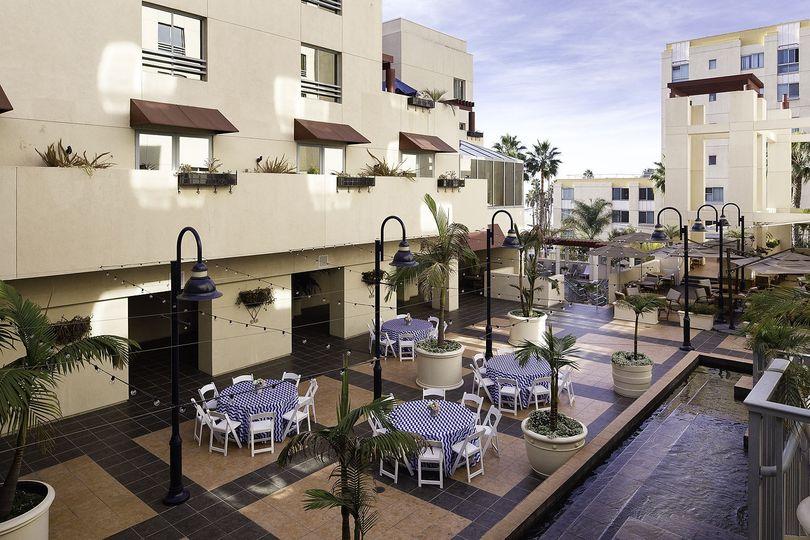 Courtyard - daytime