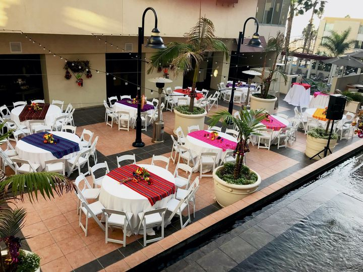 Courtyard - reception