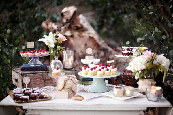 Mini Dessert Table Display