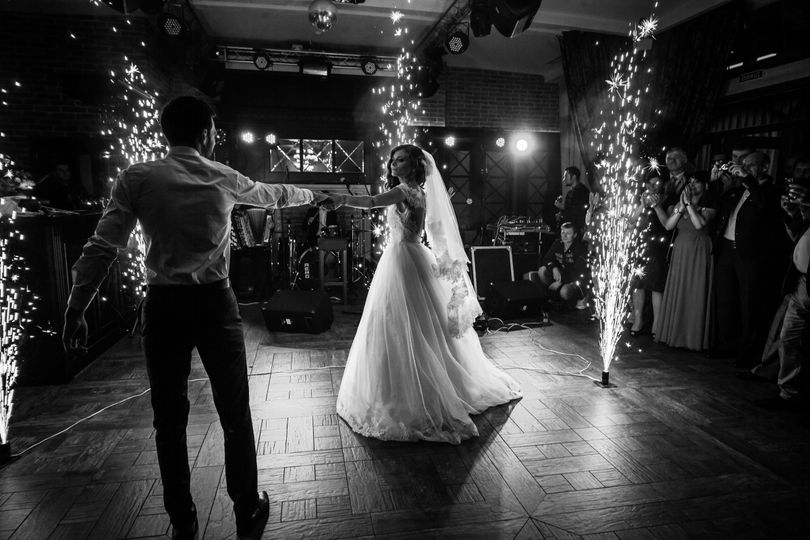 First dance with a flash!! Austin, Tx