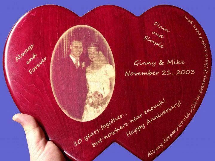 Tmx 1413854137459 Double Heart Blue Sewell wedding favor