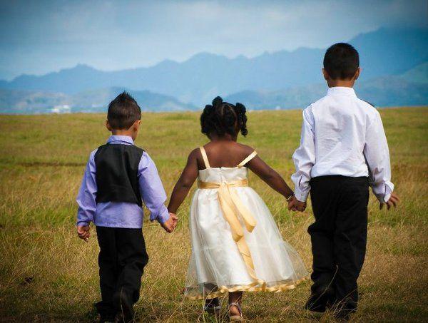 Tmx 1323342691601 Flowergirlandringbearers Hudson wedding dress
