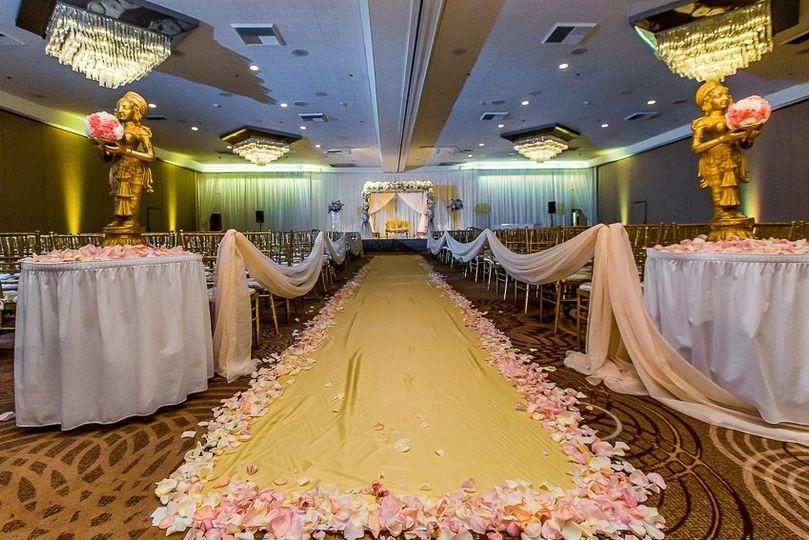 Ceremony in Ballroom