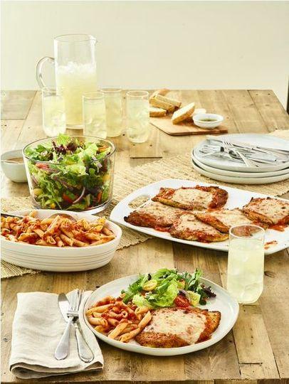 Family bundle chicken parmesan