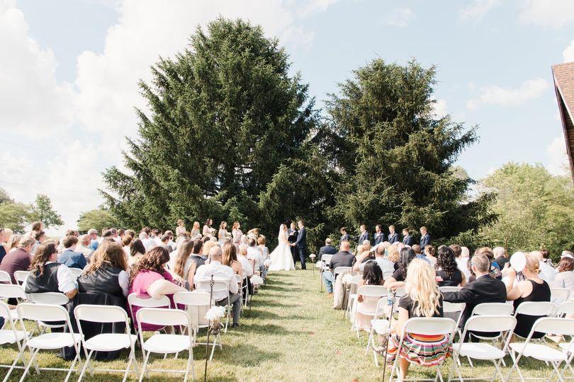 Outdoor Ceremony, Lauren Rae