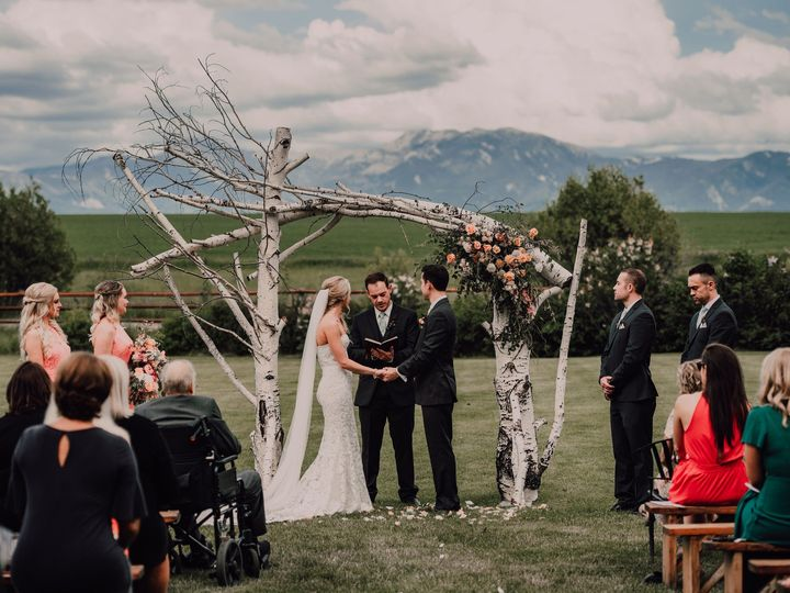Tmx Ceremony89 51 109976 158352045431283 Bozeman, MT wedding venue