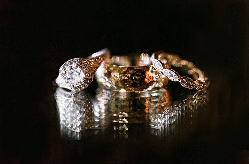 calistogra ranch wedding ring shot
