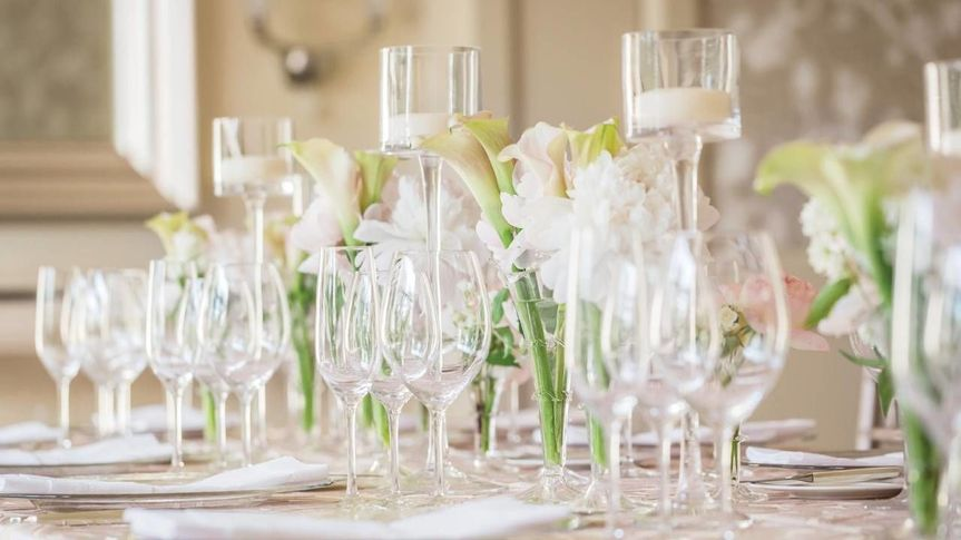 An elegant tablescape