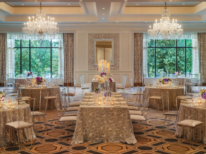 Dazzling chandeliers