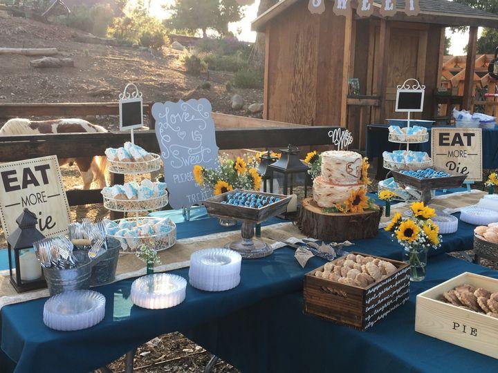 Rustic WeddingCakes, Mini Pies, Dipped Cookies, Marshmallow Treats