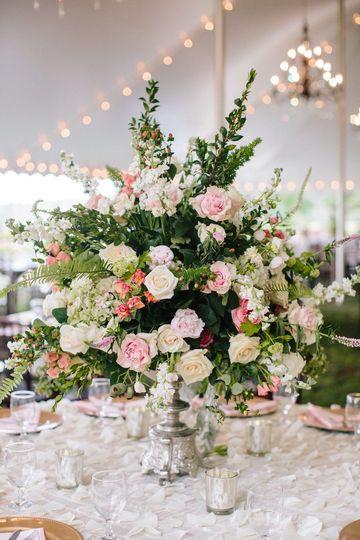 Floral centerpiece