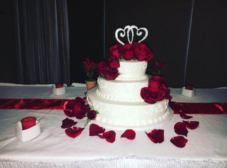 3-layered cake