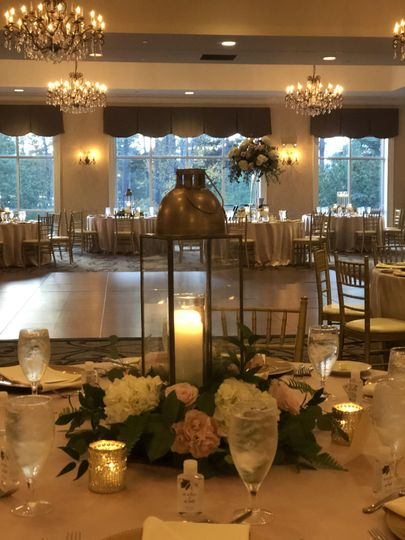 Grand Ballroom, candles