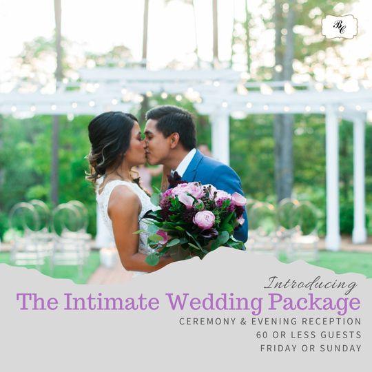 intimate wedding package 51 23086 159760113987242