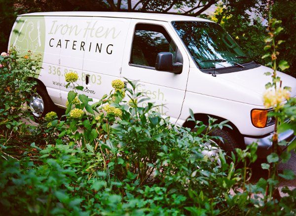 Iron Hen Catering Van
