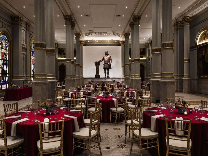 Tmx 1474646431782 Grand Ballroom Burgundy 1 Philadelphia, Pennsylvania wedding venue