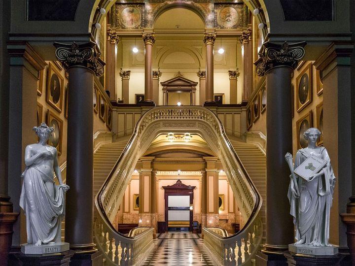 Tmx 1474646450271 Second Floor Staircase Philadelphia, Pennsylvania wedding venue