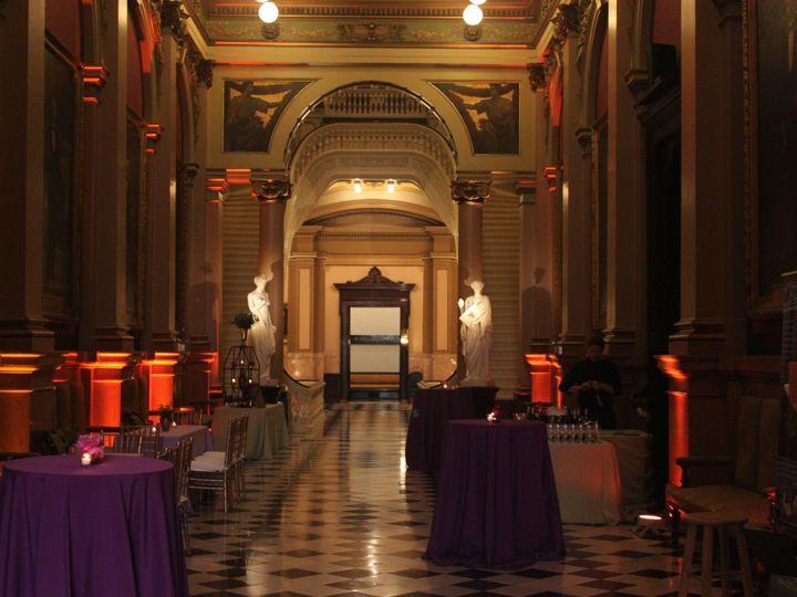 Tmx 1497753823131 Foyer Under The Stars Uplighting Philadelphia, Pennsylvania wedding venue