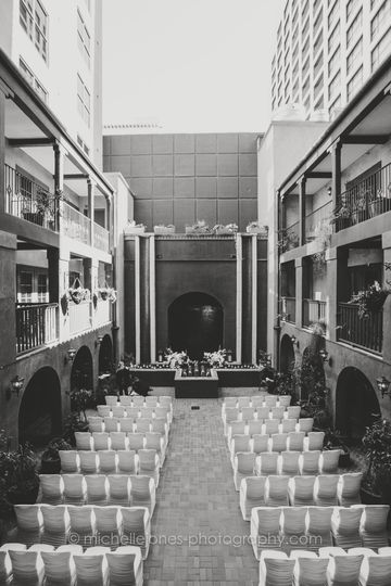 Courtyard Ceremony Setup (2)