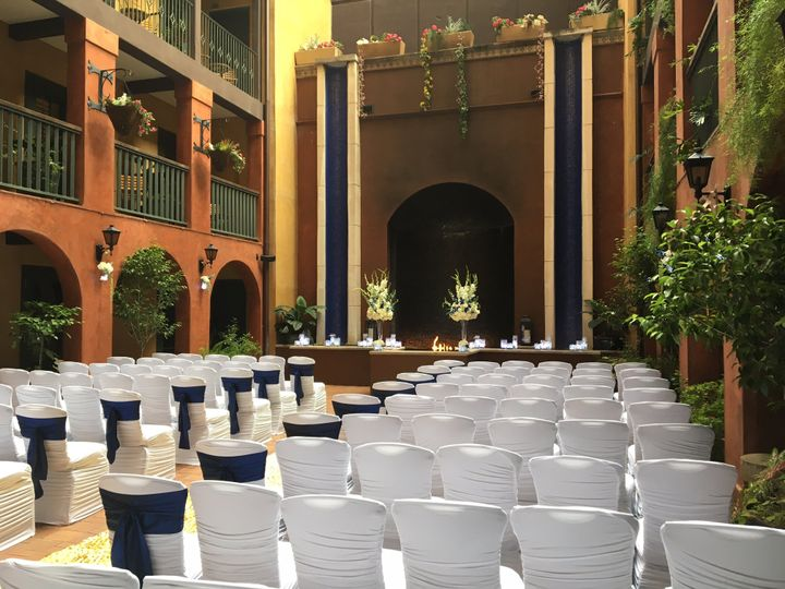 Courtyard Ceremony Setup (3)