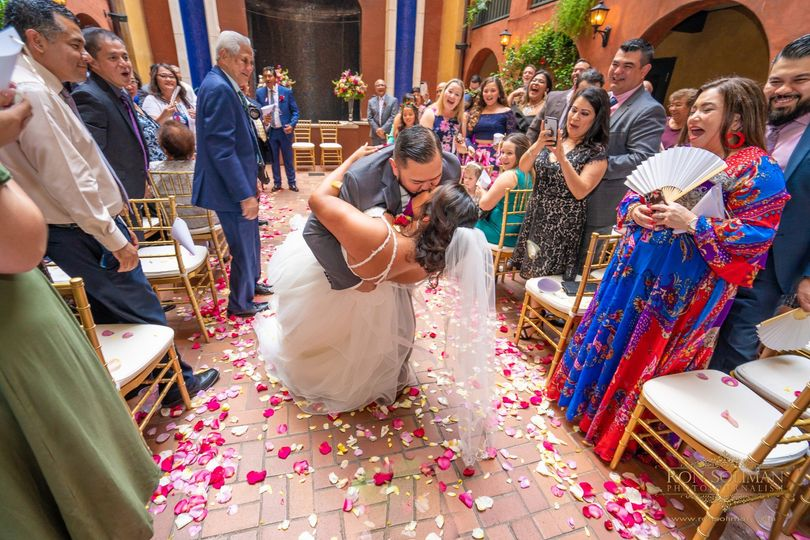 Private Courtyard Ceremony