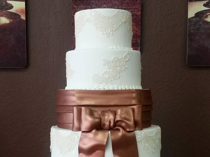 Tmx 1422026857147 4 Milwaukee, Wisconsin wedding cake