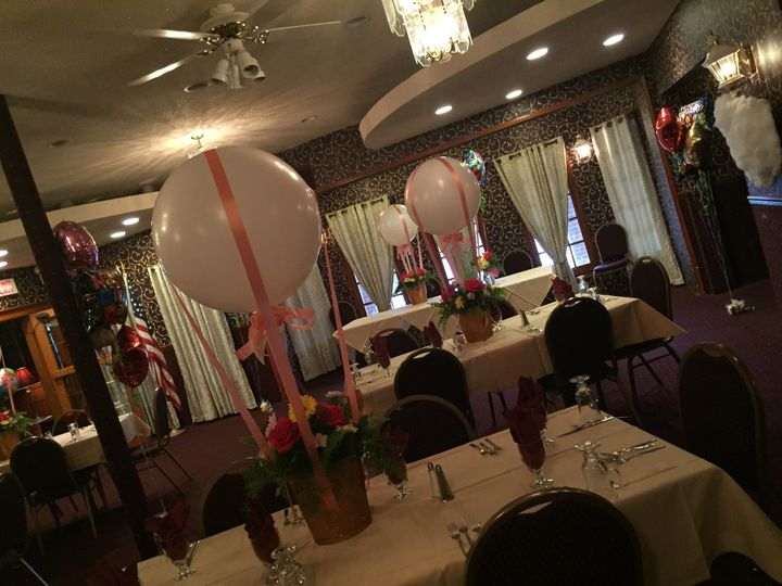 Crescent Room.. seats up to 50 guests, great location for a bridal shower, baby shower or birthday...