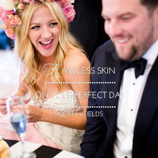 Flawless skin isn't just for you - help him feel confident too and have wedding pictures that show...