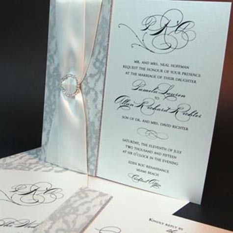 Tmx 1388423957301 Arlenesegalwedding11 Newton Center wedding invitation