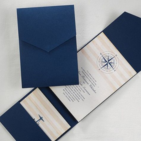 Tmx 1388423996644 Carlsonweddingpocket243 Newton Center wedding invitation