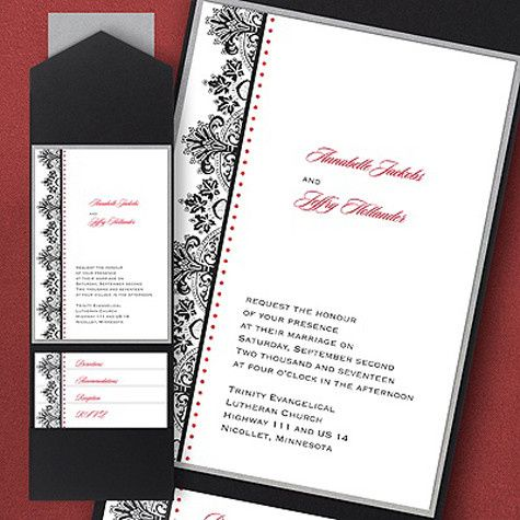 Tmx 1388424000825 Carlsonweddingpocket438 Newton Center wedding invitation