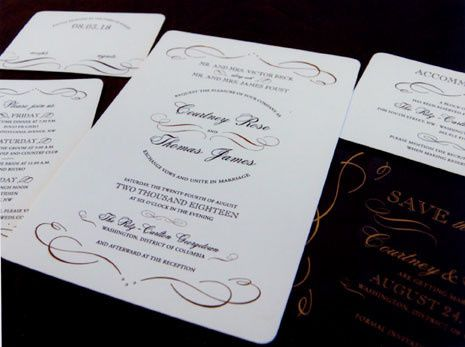 Tmx 1388424049604 Designerletterpress Newton Center wedding invitation