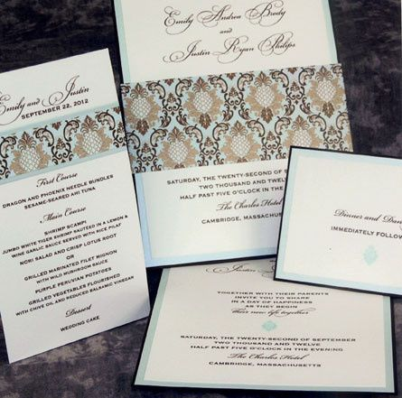 Tmx 1388424057584 Lemontreewedding Newton Center wedding invitation