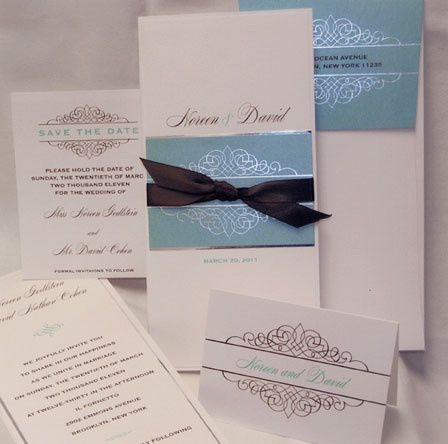 Tmx 1388424059392 Lemontreewedding Newton Center wedding invitation