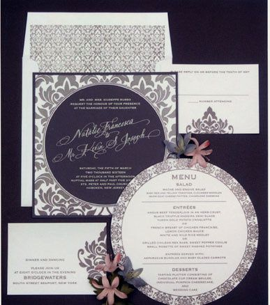 Tmx 1388424070618 Lemontreewedding1 Newton Center wedding invitation